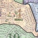 こぶし平周辺MAP遊歩道